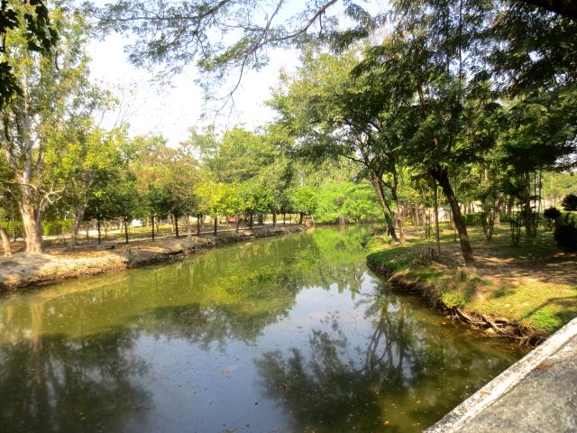 ラーマ9世公園 (8景-1) チェンマイ タイ King Rama IX Lanna Garden, Chiang Mai,Thailand 2014/01/15 Photo by Kohyuh