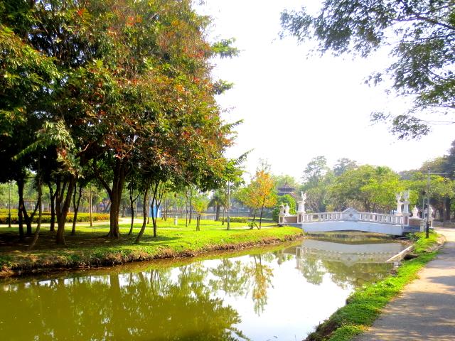 ラーマ9世公園 (8景-2) チェンマイ タイ King Rama IX Lanna Garden, Chiang Mai,Thailand 2014/01/15 Photo by Kohyuh