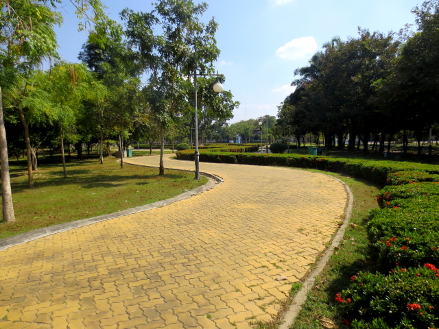 ラーマ9世公園 (8景-8) チェンマイ タイ King Rama IX Lanna Garden, Chiang Mai,Thailand 2014/01/15 Photo by Kohyuh