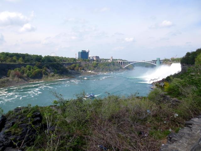 ナイアガラの滝 (15景-13) ・・・ アメリカ側 ニューヨーク州 アメリカ Niagara Falls, NY, USA 2013/05/22 Photo by Kohyuh
