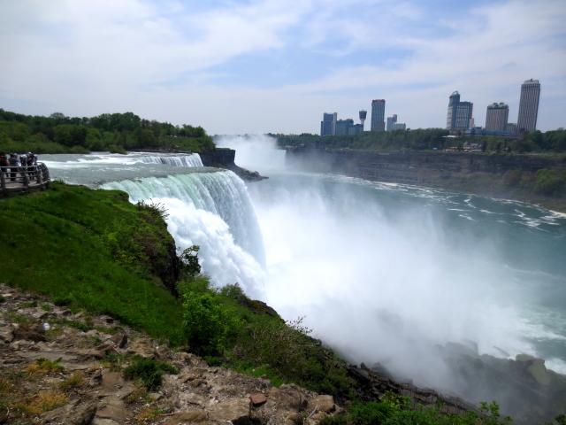 ナイアガラの滝 (15景-1) ・・・ アメリカ側 ニューヨーク州 アメリカ Niagara Falls, NY, USA 2013/05/22 Photo by Kohyuh