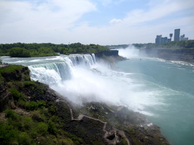 ナイアガラの滝 (15景-3) ・・・ アメリカ側 ニューヨーク州 アメリカ Niagara Falls, NY, USA 2013/05/22 Photo by Kohyuh