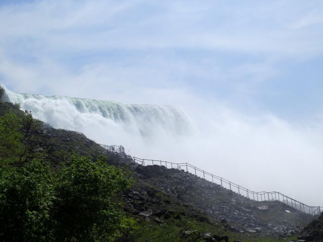 ナイアガラの滝 (15景-5) ・・・ アメリカ側 ニューヨーク州 アメリカ Niagara Falls, NY, USA 2013/05/22 Photo by Kohyuh