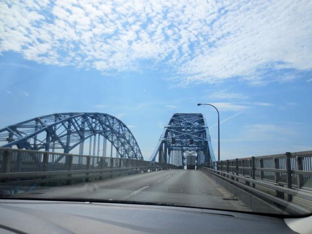 ナイアガラからバースに向かって (5景-1) Drive from Niagara to Bath in USA, 2013/05/22