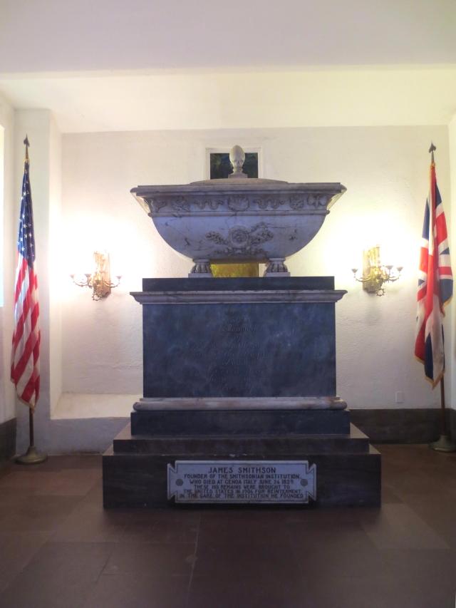 ジェームズ・スミソンの棺