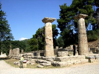 ヘラ神殿 Heraion の遺跡
