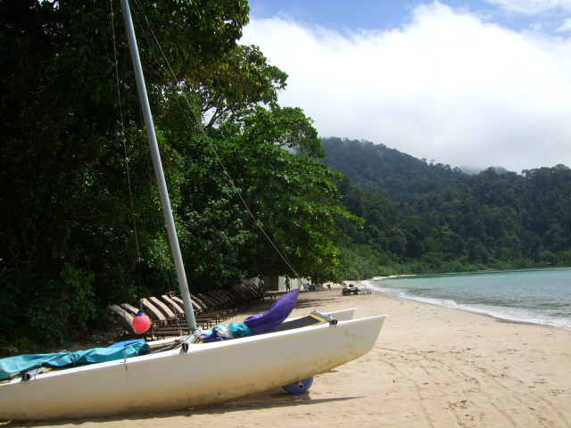 ザ・ダタイのプライベートビーチ