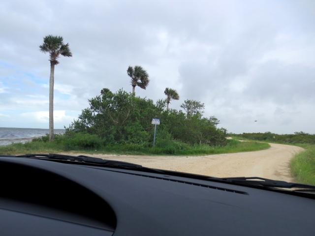 """Bio Lab Road"" (7景-2) メリット島国立野生動物保護区 メリット島 フロリダ 米国"