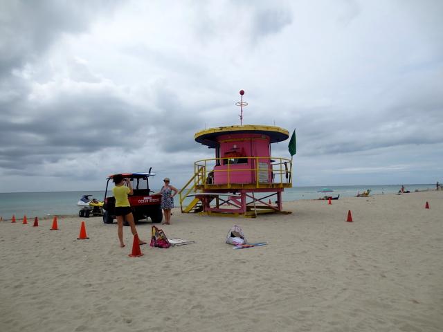 マイアミビーチに向かって (13景-5)